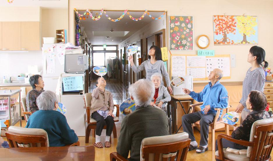 高齢者支援 社会福祉法人・七峰会