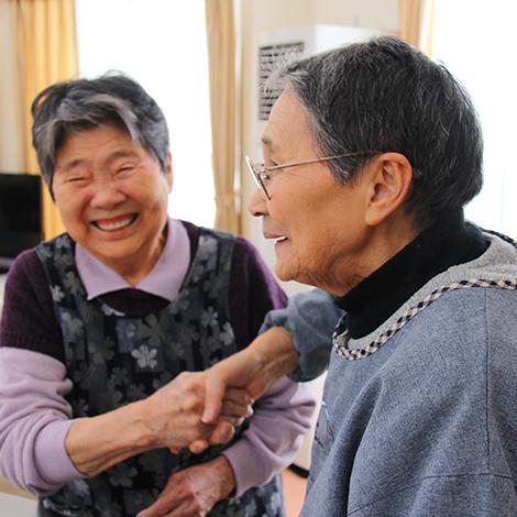 特別養護老人ホームサンアップルホーム(介護老人福祉施設)入居者
