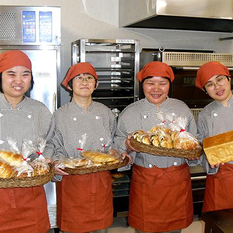 社会福祉法人七峰会 拓心館グループ エイブル「パン」